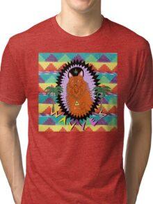 KING OF THE BEACH Tri-blend T-Shirt
