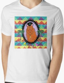 KING OF THE BEACH Mens V-Neck T-Shirt
