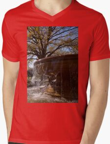 Water Curtains and Autumn Sunshine Mens V-Neck T-Shirt
