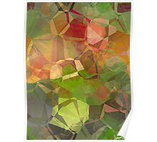 Abstract Polygons 98 Poster