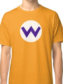 Super Mario Wario Icon Classic T-Shirt