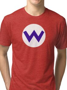 Super Mario Wario Icon Tri-blend T-Shirt