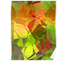 Abstract Polygons 101 Poster