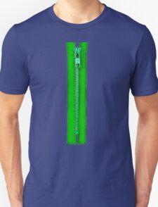 Green zip T-Shirt