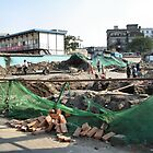 Beijing 2006 - Demolition along Meishi Street by Marjolein Katsma