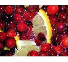 Cranberry Relish Photographic Print