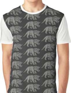 Triceratops dinosaur Graphic T-Shirt