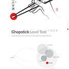 Chopstick Level Test by 73553