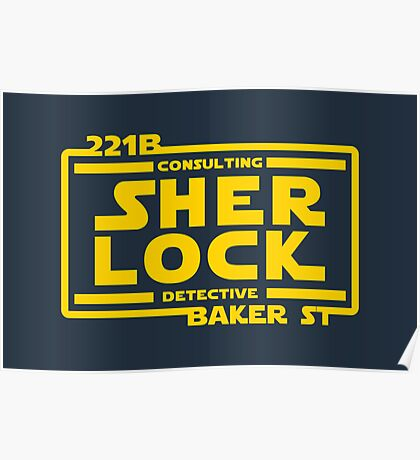 SHER LOCK Poster