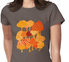 Woodland Womens Fitted T-Shirt