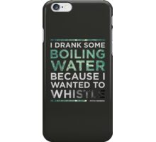 Mitch Hedberg - Whistle iPhone Case/Skin