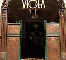 Divadlo Viola Theatre, Prague by SerenaB