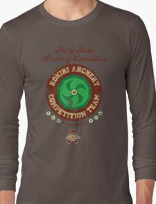Fairy Bow Archery Exhibition Long Sleeve T-Shirt