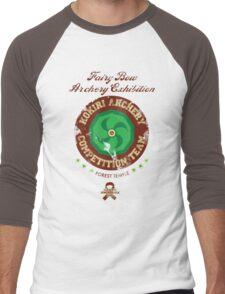 Fairy Bow Archery Exhibition Men's Baseball ¾ T-Shirt