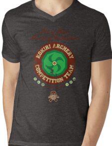 Fairy Bow Archery Exhibition Mens V-Neck T-Shirt