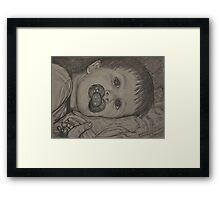 My Precious Grandson Kian Framed Print