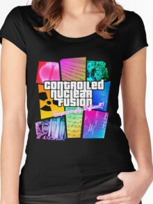 Controlled Nuclear Fusion - Surprisingly Difficult! Women's Fitted Scoop T-Shirt