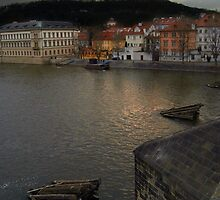 View from Charles Bridge, Prague by SerenaB