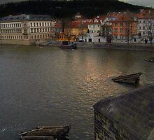 View from Charles Bridge, Prague by SerenaB