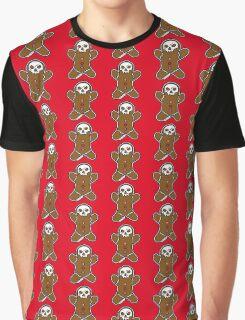 Run Run, The Gingerbread Man Graphic T-Shirt