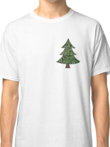 Christmas tree  - OneMandalaADay Classic T-Shirt