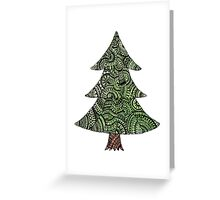 Christmas tree  - OneMandalaADay Greeting Card
