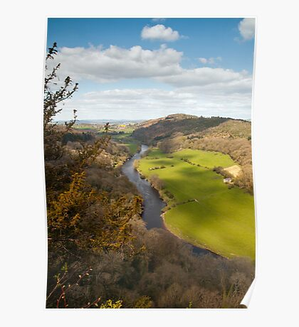 View from Symonds Yat Rock Poster