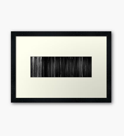 Moviebarcode: Act of Violence (1948) Framed Print