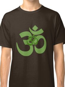aum in green Classic T-Shirt