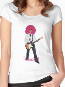 Christmas Rocks Women's Fitted Scoop T-Shirt