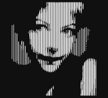 pic2line - Basak Portrait by AnnoNiem