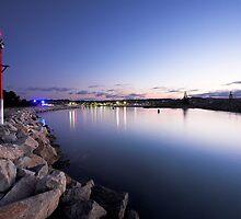 Bermagui Harbour by David Haworth
