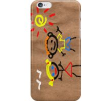 Stick Friends iPhone Case/Skin