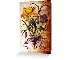 Helianthus Annuus (MSM #1) Greeting Card