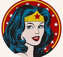 Princess Diana of Themyscira by RetroPops