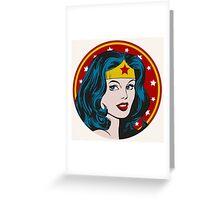 Princess Diana of Themyscira Greeting Card