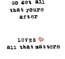All That Matters by Mandusk