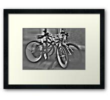 nawlinS biKerS Framed Print