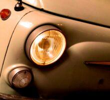 Old Fiat 500 Sticker