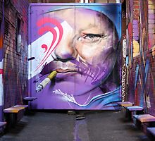 He only smokes in Alleyways by chasingsooz