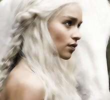 Daenerys Stormborn / Daenerys Targaryen - Mother of Dragons by Scorian