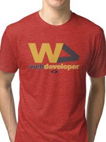web developer Tri-blend T-Shirt