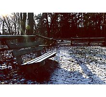 __eerde bench: the netherlands Photographic Print