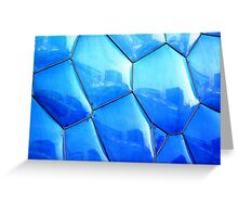 Blue Reflections © Greeting Card