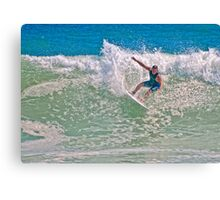 *** HANGING TEN*** Canvas Print