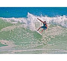 *** HANGING TEN*** Photographic Print