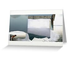 Billboard Painter Greeting Card