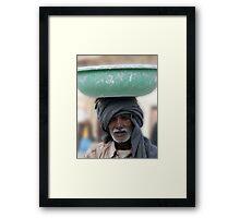 Bowler Framed Print