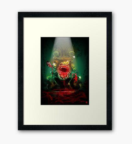 Dumpty of the Dead – King Dumpty Framed Print
