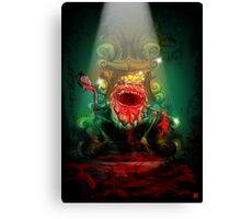 Dumpty of the Dead – King Dumpty Canvas Print
